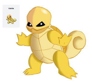 Pokemon Fusion: Kaktle by Keboponda