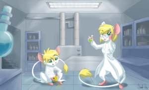 Commission: Lab Mice by DevoidKiss