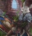 *C*_Dark souls and white fur by Fuf