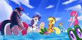 MLP: Summertime in Ponyville by sssonic2