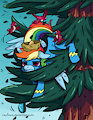 MLP - Rainbow Crash by Caycowa