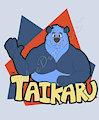 Taika Ru Badge by bluedigitalcat