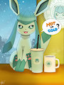 Hot or Cold? ( Glaceon ) by WinickLim