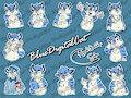 Stickers! by bluedigitalcat