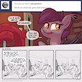 Ask Night Stitch: Puns 2, Stitchy Bougaloo by LunarShine