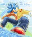 Sonic the Hedgehog by KrazyELF